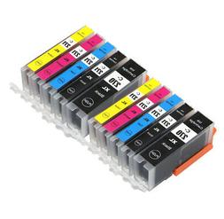 10 PK Printer Ink with chip for Canon 270 271 Pixma TS5020 T
