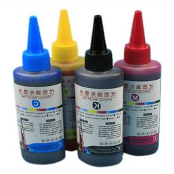 100ml Color Ink Cartridge Refill Replacement Kit For HP & Ca