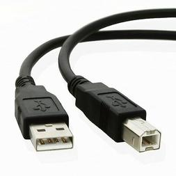 10FT USB 2.0 Type A to Type B Male Data Printer Cable Cord f