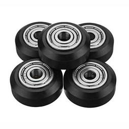 10Pcs 25.5MM POM Wheel Big Pulley Linear For 3D Printer Acce