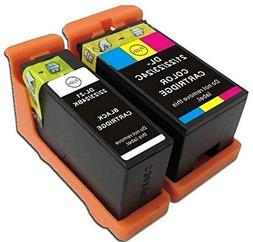 2 ink cartridge Compatible for Dell printer V313 V313W V515W