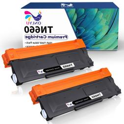 2 High Yield TN660 Black Toner Cartridge For Brother MFC-L27