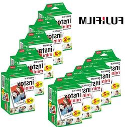 200 Sheets Fujifilm Instax Mini Instant Film For Mini 9 8 8+