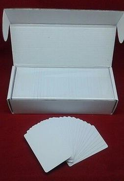 250 CR80 30Mil White Blank PVC Plastic Cards for Photo ID ca