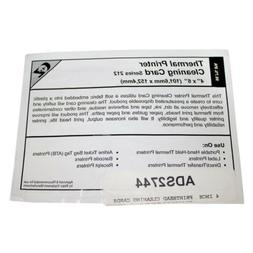 """4"""" Thermal Computer PC Printer Quality Cleaning Card Dirt In"""