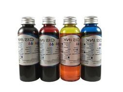 4PK Edible Ink Refill Kit for Canon Epson Brother Printers 4