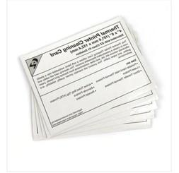 5 pack thermal printer cleaning cards 4x6
