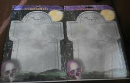 Amscan 50 Gravestone Halloween Laser Sheets for most Home an
