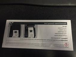 50 pack Presaturated Thermal Printer Cleaning Cards  # 99350