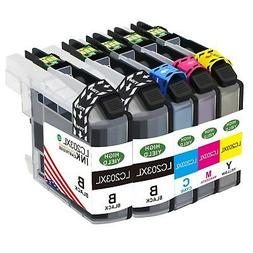 5x lc203 xl ink cartridge for brother