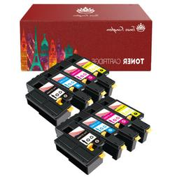 8 PK New High Yield Toner Cartridge For Dell 1660 C1660 C166