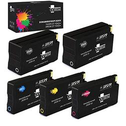 MIROO Remanufactured Ink Cartridge Replacement for HP 952xl