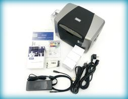 Fargo DTC1250e Single Sided USB Card Printer with Supplies B