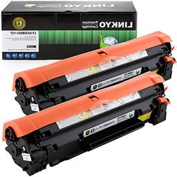 LINKYO Compatible Toner Cartridge Replacement for Canon 137