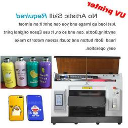 A3 UV Printer 6 Color for Bottles Can Cylindrical ETC Signs