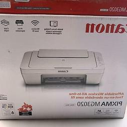 Canon Pixma MG3020 Wireless All In One Printer New In Box Fr