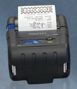 "Citizen 2"" Mobile Thermal Printer CMP-20IIBTIUC SERIAL USB B"