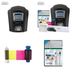 AlphaCard Compass Complete Photo ID Card Printer System with