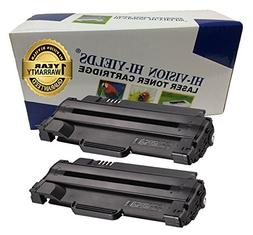 HI-VISION 2 Pack Compatible Dell 330-9523  High Yield Black