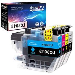Uniwork Compatible Ink Cartridge Replacement for Brother LC3