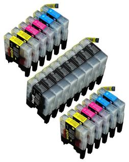 20 Pack Compatible LC-71 , LC-75 8 Black, 4 Cyan, 4 Magenta,