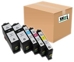 Inkcool Compatible Set of 5 Pack Lexmark 150XL 150 XL Black