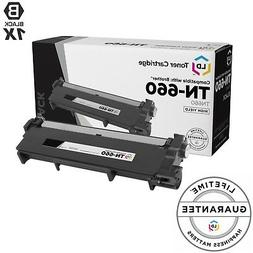 Compatible Replacement for Brother TN660 HY Black Toner Cart