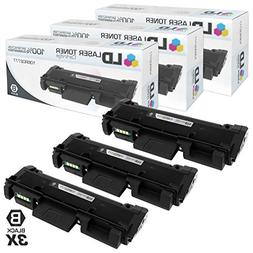 Compatible Xerox 106R02777 3PK HY Black Toner Cartridges for