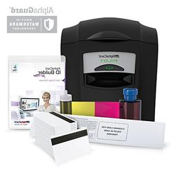 Complete AlphaCard ID Card Printer Bundle: AlphaCard Pilot I