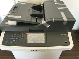 Lexmark CX417de Color All-In One Laser Printer with Scan, Co