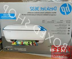 HP DeskJet 3630 All-in-One Printer - White with Blue Accent