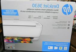 HP DeskJet 3630 All-in-One Printer White with Blue Accent