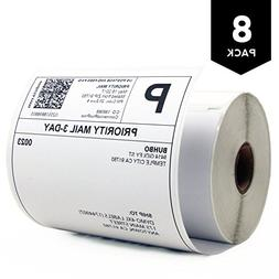 "DYMO 4XL Compatible 4"" x 6"" Shipping Label 1744907,White"