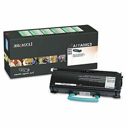 Original Lexmark E260A11A 3500 Yield Black Toner Cartridge -