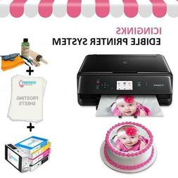 Edible Bundle - Canon Printer, Ink Cartridges, Frosting Shee