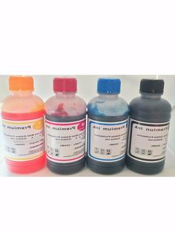Edible Ink Refill Kit for Canon Epson Printers 4x250ml Ink B
