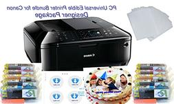 PC Universal Edible Printer Bundle- Designer Package- with 2