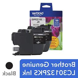 Brother Genuine LC30132PKS 2-Pack High Yield Black Ink Cartr