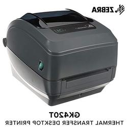 Zebra - GK420t Thermal Transfer Desktop Printer for Labels,