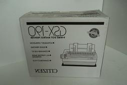Citizen GSX-190 Dot Matrix Printer Parallel 9-Pin 1-Sheet 24