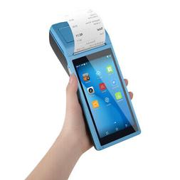 Handheld Android Pos Terminal BT Receipt Printer 5.5 Inch To