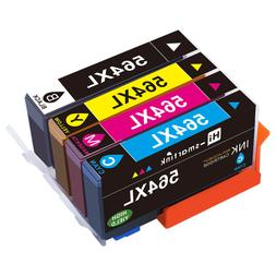 High Yield 564XL Ink Cartridge Set for HP Printer Photosmart