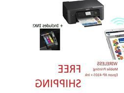 Epson Home XP-4105 Wireless Printer Copy Scan all in one Fre