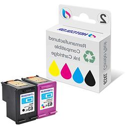 Generic Remanufactured Ink Cartridge Replacement for HP 63XL