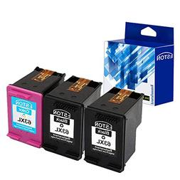 ESTON Remanufactured Ink Cartridge Replacement for HP 63XL 6