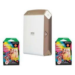 Fujifilm instax SHARE SP-2 Smartphone Printer Gold w/2x Inst