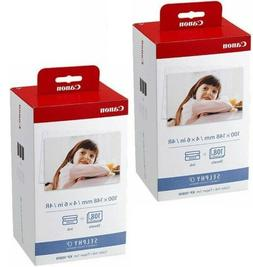 Canon KP-108IN Color Ink/4x6 Photo Paper Set