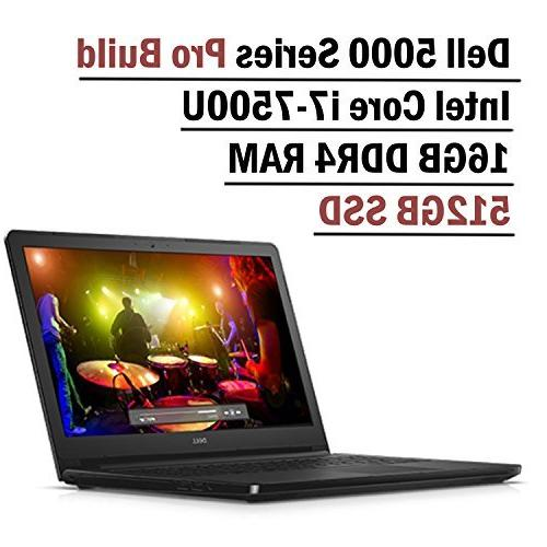 Dell Inspiron 5000 Series 15.6 Inch HD Pro Build Business La
