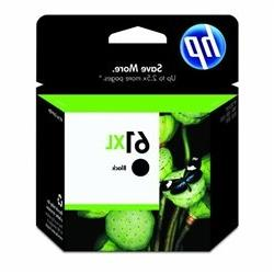 HP 61XL Black Original Inkjet Cartridge CH563W in Factory Se