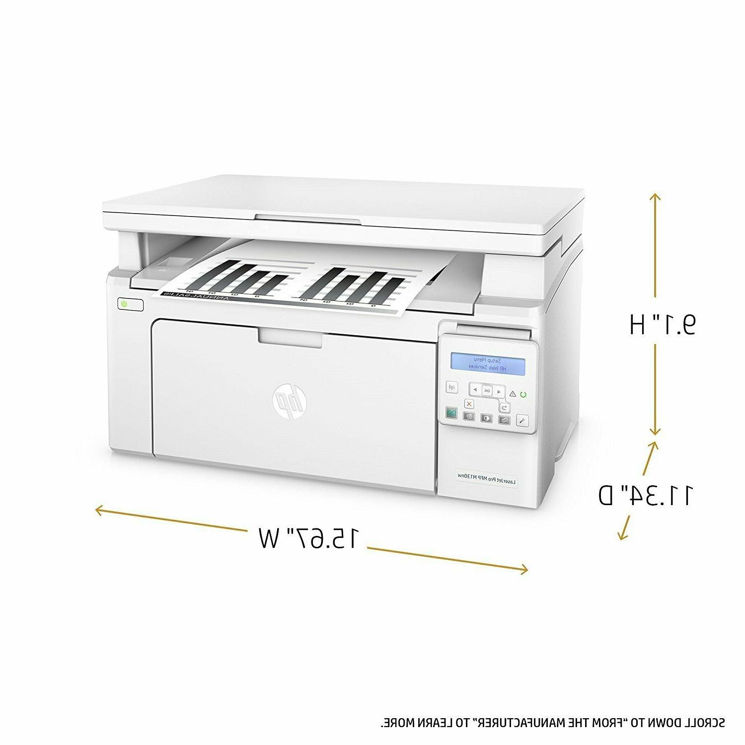 Brand new HP LaserJet Pro M130nw All-in-One Laser Printer